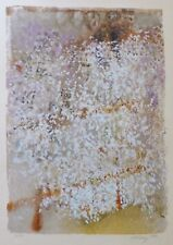 """MARK TOBEY """"Blossoming Moments"""" HAND SIGNED 1971 Abstract expressionism USA"""