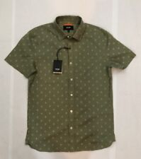 NWT Men's Jack Spade Short Sleeve Linen Blend Shirt Sz S MSRP $98