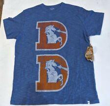 Denver Broncos 47 Brand Men's T- Shirt NWT DEFECT Size Small