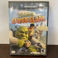 Shrek Super Slam (Nintendo GameCube, 2005) Disc And Case