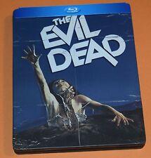 The Evil Dead - Steelbook (Blu-ray Disc, 2014) Sam Raimi