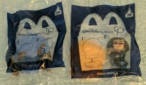 (2) McDONALD DISNEY 50th ANN. HAPPY MEAL TOYS,#29 & 30, Rocket and Edna