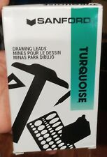 Sanford Turquoise Drawing Leads 02403 - 6375-E2 Lot Of 6 Packs X 12 72 Leads