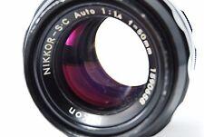 Nikon NIKKOR-S.C Auto50mm F1.4 Non-Ai Lens SN1590658