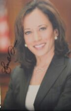 Kamala Harris HAND SIGNED Campaign Vice President United States  America Biden
