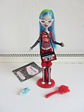 Ghoulia Yelps Basic 1.Serie 1.Wave Monster High RAR Top Haustier Tagebuch