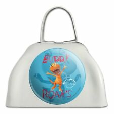 Dinosaur Train Buddy Roars T-Rex White Metal Cowbell Cow Bell Instrument