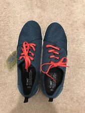 TOMS Mens 'Viaje' Legion Blue Mesh Low Top Sneakers Sz 13