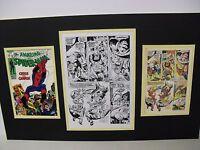 Production Art JOHN ROMITA Amazing Spider-Man 68 pg 18 w/cover & page prints