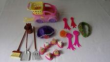 Mon Petit Poney My Little Pony Lot d'accessoires accesories divers voiture caddy