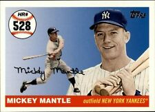 Topps Mickey Mantle Baseball Cards