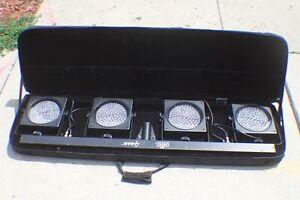Chauvet 4BAR LED Light System in Case