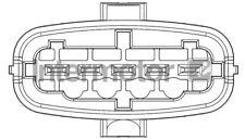 SAAB 9-3 YS3D 2.2D Air Mass Sensor 98 to 02 Flow Meter Intermotor 4662888 New