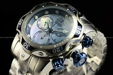 Invicta Mens 53mm Venom Gen III Swiss Mother of Pearl Dial Silver Chrono Watch