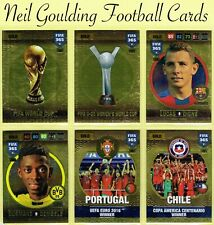 Panini FIFA 365 2016-2017 ☆ GOLD ☆ Football Cards #10 to #45