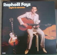 RAPHAEL FAYS NIGHT IN CARAVAN SWING FRENCH LP EAST WEA RECORDS 1980