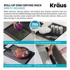 KRAUS KWT310-30 Kore Workstation 30-inch Drop-in or Undermount 16 Gauge Sink