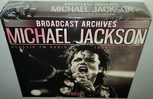 MICHAEL JACKSON THE BROADCAST ARCHIVES (2018 RELEASE) BRAND NEW SEALED 4CD SET
