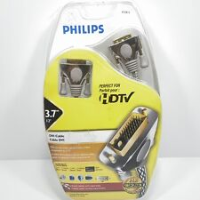 Philips HDTV DVI - 24k Gold Plated Connectors 12 foot Cable # P72812 New/Sealed