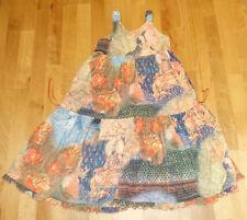 Toff Togs farbenfrohes festliches Dreh Kleid Gr 128 ( 134 / 140 ) Bali Serie