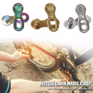 Bike Chain Link Bicycle Chain Buckle Quick Master Link Chain Connector Lock