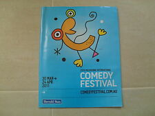 MELBOURNE INTERNATIONAL COMEDY FESTIVAL - 2011 Festival Programme (88 pages)