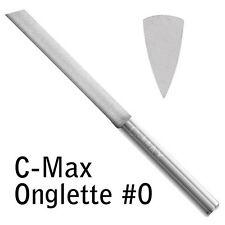 GRS® Tools 022-625 C-Max Carbide Onglette Graver #0