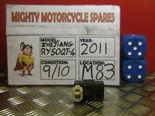 2011 ZHEJIANG RY50QT-4  ECU BLACK BOX  ONLY 750 MILES  (M83)