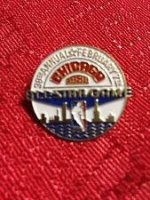 1988 NBA Basketball All-star Game Chicago Collector Pin Vintage