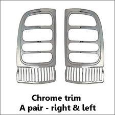 2PCS ABS 3M Chrome Taillight Trim [Fits: Dodge Ram 1500 2500 3500 1994-2001]