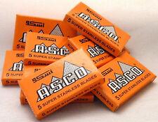 ASCO Super Stainless (Orange) Double Edged Razor Blades
