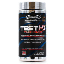 MuscleTech Test HD Thermo (90ct) Test booster fat burner build muscle stamina