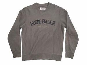 Eddie Bauer Pullover Jumper Winter Green Olive Mens Large