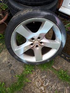 Chrysler 300C estate full set wheels & tyres