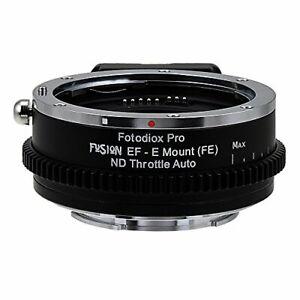 Vizelex ND Throttle Fusion Smart AF Lens Adapter - Canon EOS - EF NOT EF-S D/...