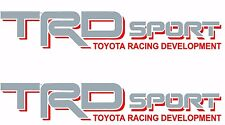 TOYOTA TRD SPORT Decals /Vinyl Stickers 1 PAIR truck bed FREE SHIPPING