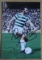 Danny McGrain Hand Signed 6x4 Photo Celtic Genuine Autograph Memorabilia + COA