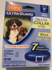 Hartz Ultra Guard Flea & Tick Collar For Dogs. Full Body Protect For 7 M