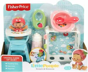 Fisher-Price Little People Snack and Snooze