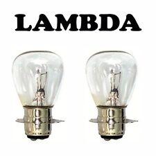 Head Light Headlight Globes Bulbs x2 6Volt for Honda CT110 Postie Bikes