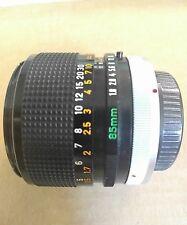 Canon FD 85mm 1.8 S.S.C Lens