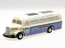 """Schuco Piccolo Mercedes Bus O-3500 """"Jura Häuser"""" # 50142001"""