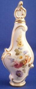 Antique 19thC Meissen Porcelain Perfume Bottle Flacon Porzellan Flakon Perfüm #2