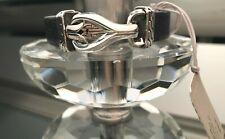John Hardy Men's Asli Classic Chain Link Silver Leather Bracelet