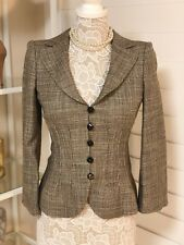 Pre-Owned Women's Armani Collezioni Blazer,Tan, Sz 2