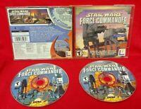 Star Wars Force Commander - PC Game Disc, Case - Near Mint Discs Windows 95/98
