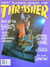 Thrasher Feb 1992 World Championships Canceled, Junkyard Rumble, Skateboarding