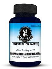 2019 PREMIUM Dr.James Advanced Glutathione FASTER 60 CAPS Skin Whitening Pills