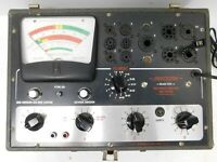 Vintage 1960's  Precision Model 650 Grid Circuit Analyzer Tube Tester...Working