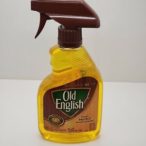 Old English Lemon Oil CONDITIONER PROTECT & POLISH Wood Furniture 12oz Spray